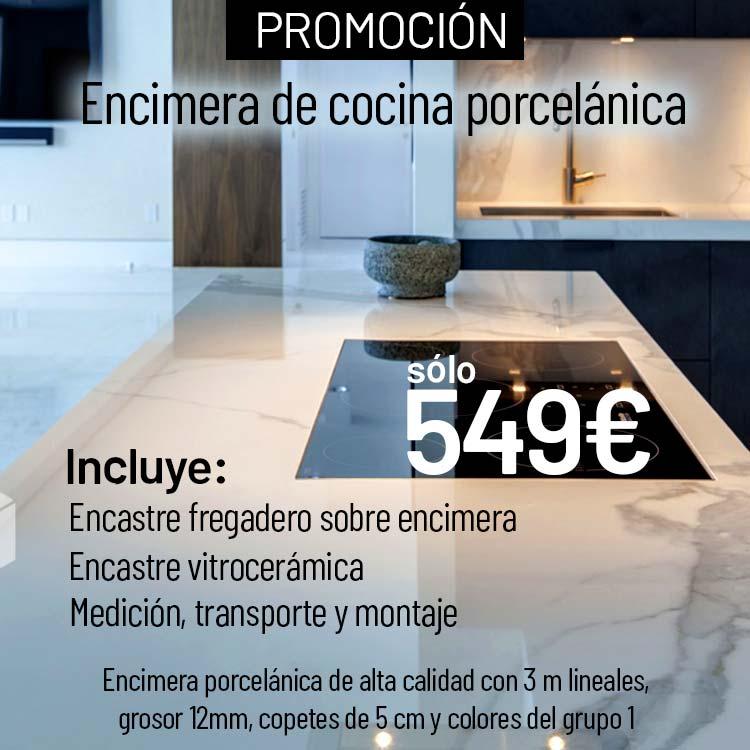 Mármol Madrid Promoción Encimera de Cocina